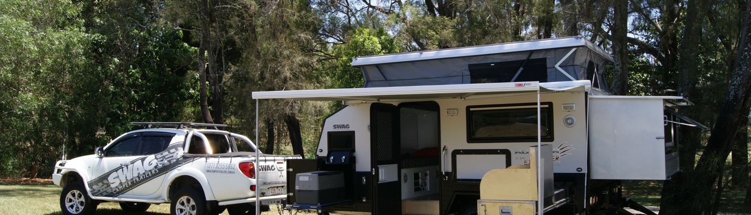 SWAG CAMPER TRAILERS - Off Road Trailer, Hybrid Van, Camper