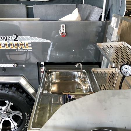 Stainless Steel Drying Rack trailer