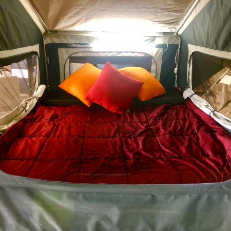 full queen bed camper trailer